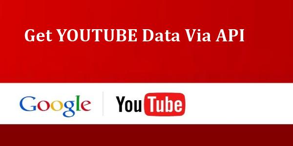 youtube data api php