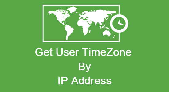 Getting User TimeZone through IP Address in PHP