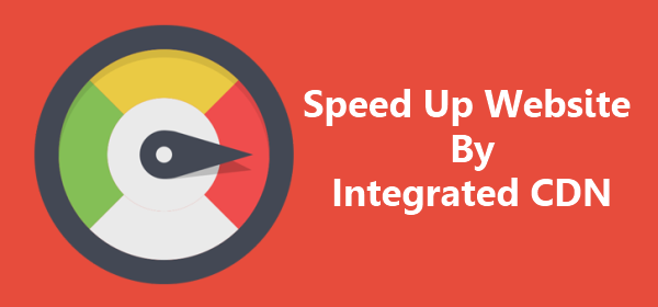 speed up website integrated cdn