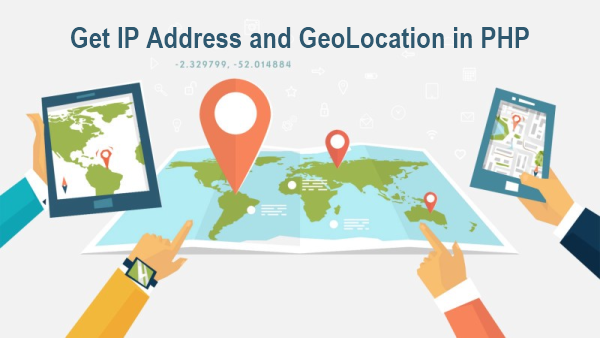 Get IP Address and GeoLocation
