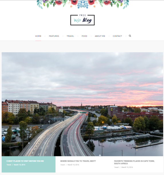 palmas wordpress theme