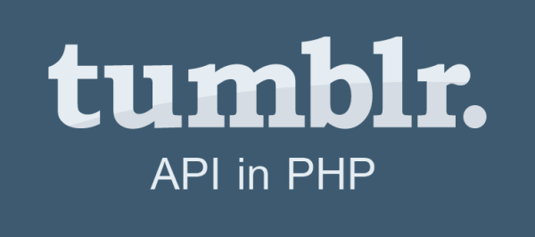 tumber api integration php