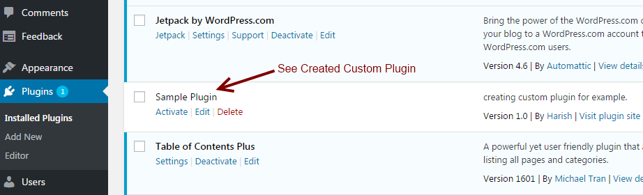 How to Create Custom WordPress Plugin